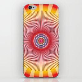 Sun Mandala - מנדלה שמש נצחית iPhone Skin
