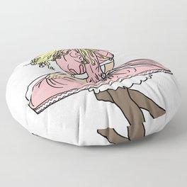 Twirl (Blonde) Floor Pillow