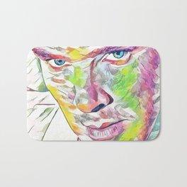Benedict Cumberbatch (Creative Illustration Art) Bath Mat