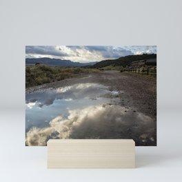 Road Full of Sky Mini Art Print