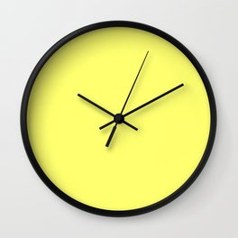 Custard Wall Clock