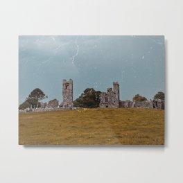 Slane Castle Ruins, Ireland Metal Print