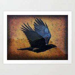 Raven's Mountain Art Print Art Print