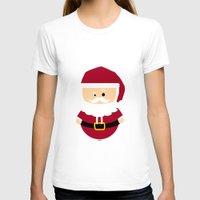 santa T-shirts featuring Santa by Kimono Hyun