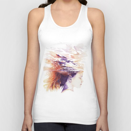 Craving for serenity Unisex Tank Top