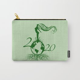 Mother Earth 2020 - Green Carry-All Pouch