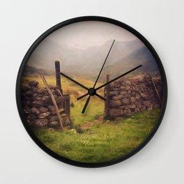 Ben Nevis Mountian range Wall Clock