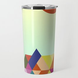 Platonic Landscape II Travel Mug