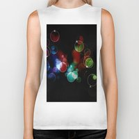 lights Biker Tanks featuring Lights by Digital-Art