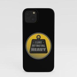 I like my metal heavy iPhone Case