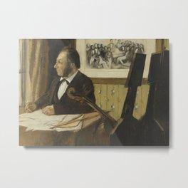 The Cellist Pilet Metal Print