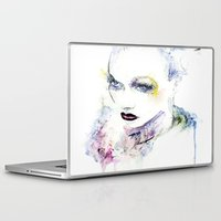 vogue Laptop & iPad Skins featuring Vogue by Chris Silver
