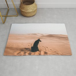 Find your way back home | Imperial Sand Dunes, California Rug