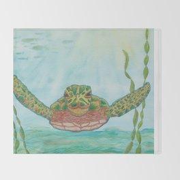 Ripley Sea Turtle Throw Blanket