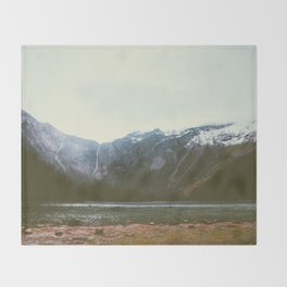 Avalanche Lake Throw Blanket