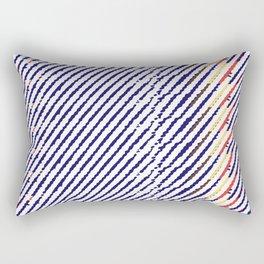 Drops of time Rectangular Pillow