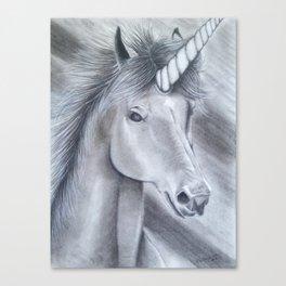 Ombre Unicorn Canvas Print