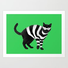 Cat Burglar, Master of Thieves Art Print