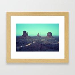 monument valley 5 Framed Art Print