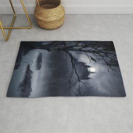 Gothic Night Fantasy Rug