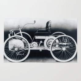 Ford quadricycle Rug