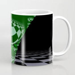 Apollonian gasket - green Coffee Mug