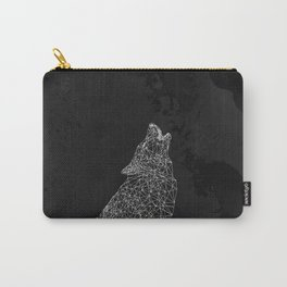 Midnight Wolf Carry-All Pouch
