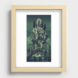 Tower Recessed Framed Print