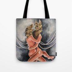 Snarled into Each Other Tote Bag