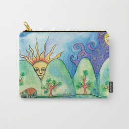 Whimsical World Carry-All Pouch