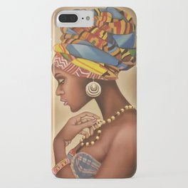 Clutched Pearls iPhone Case