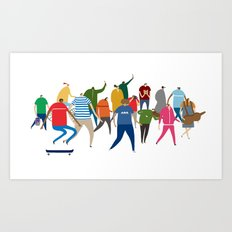 The Creatives! Art Print