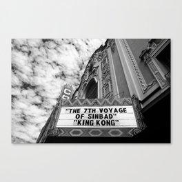 The Castro Theatre Canvas Print