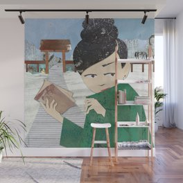 The Book Wall Mural