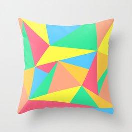 SORBET SONNETS Throw Pillow