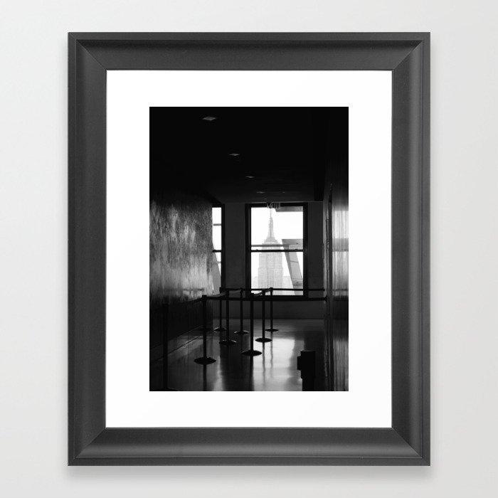 lost empire Framed Art Print