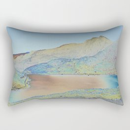 Chromascape 18 (Snowdon, Wales) Rectangular Pillow