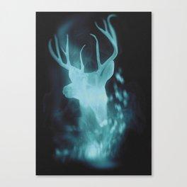 Stag Spirit Guide | Patronus Canvas Print