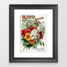 Seed Annual Framed Art Print