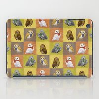 hogwarts iPad Cases featuring Hogwarts Owls by Katie O'Meara