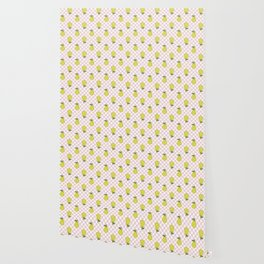 Checked Pears Wallpaper