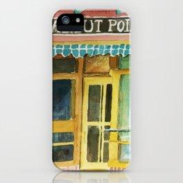 Halibut Point Restaurant iPhone Case