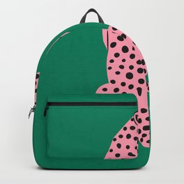 The Stare: Pink Cheetah Edition Backpack