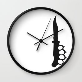 It Hurts Wall Clock