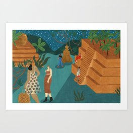 Copan, Honduras Art Print