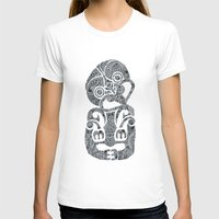 tiki T-shirts featuring Tiki  by AndreaGeddes