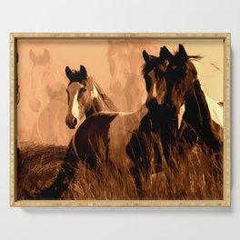 Horse Spirits Serving Tray