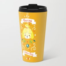 Animal Crossing: Isabelle Travel Mug