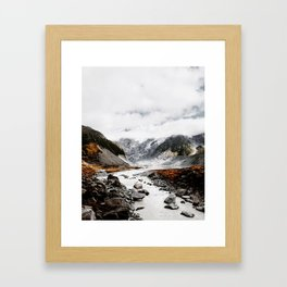 Hooker Valley Track Framed Art Print