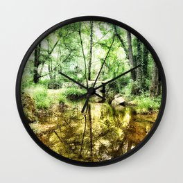 Forest of Youth Wall Clock